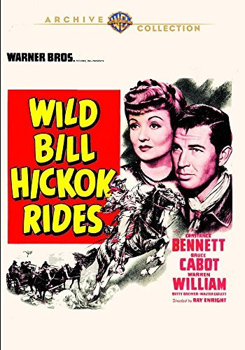 Wild Bill Hickok Rides Cabot Brewer DVD Mod This Item Is Made On Demand Could Take 2 3 Weeks For Delivery