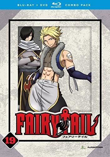 Fairy Tail Part 19 Blu Ray DVD