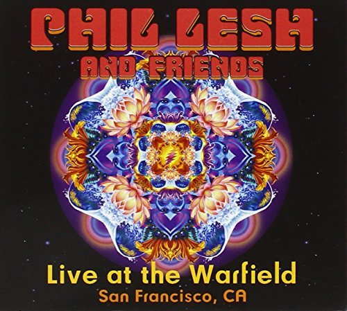 Phil & Friends Lesh Live At Warfield Theater 2 CD Set Incl. Bonus DVD