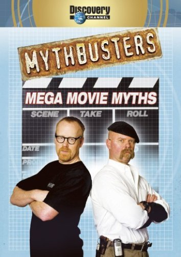 Mythbusters Mega Movie Myths DVD
