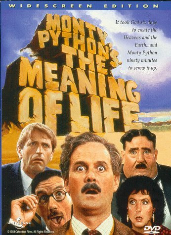 Monty Python Meaning Of Life Chapman Cleese Gilliam Idle R
