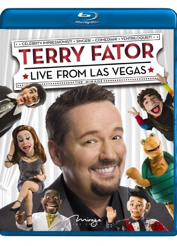 Terry Fator Live From Las Vegas Ws Blu Ray Nr