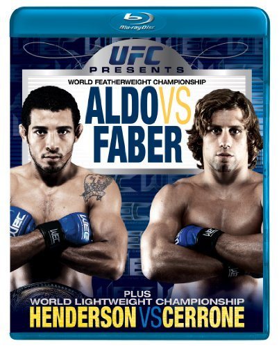 Aldo Vs. Faber Ufc Presents Wec (world Extrem Blu Ray Ws Nr