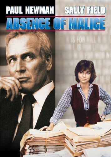 Absence Of Malice Newman Field Balaban Ws Pg