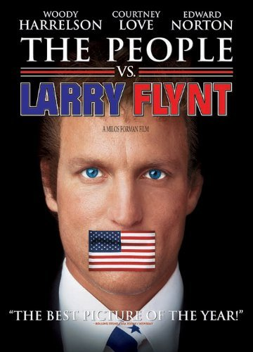People Vs. Larry Flynt Harrelson Love Norton Ws R