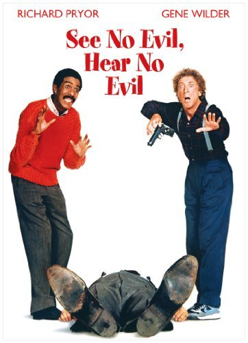 See No Evil Hear No Evil Pryor Wilder Spacey DVD R Ws