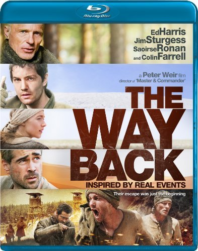Way Back Harris Sturgess Ronan Blu Ray Ws Pg13
