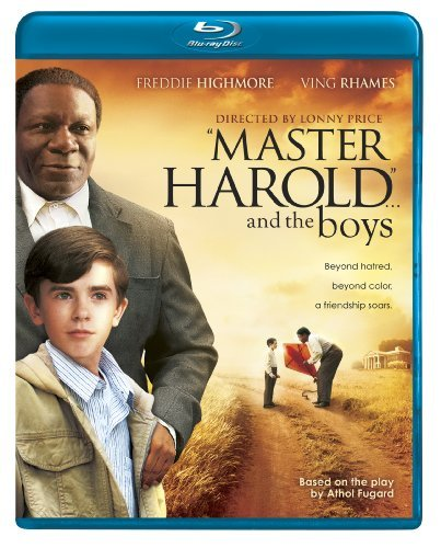 Master Harold & The Boys Highmore Rhames Blu Ray Ws Pg13