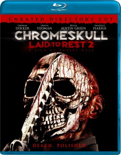 Chromeskull Laid To Rest 2 Green Harris O'grady Blu Ray Ws Ur