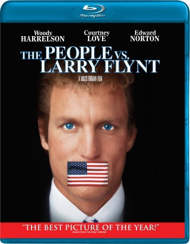 People Vs. Larry Flynt Harrelson Love Norton Ws Blu Ray R