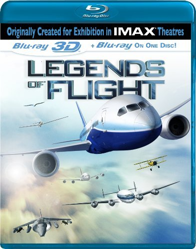 Legends Of Flight 3d Imax Ws Blu Ray 3d Nr