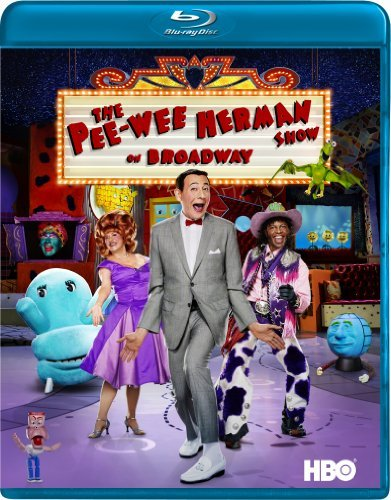 Reubens Fridell Garcia Pee Wee Herman Show On Broadwa Blu Ray Ws Nr