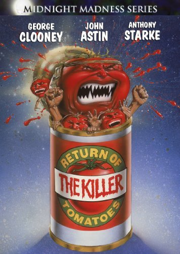 Return Of The Killer Tomatoes Clooney Astin Ws Pg