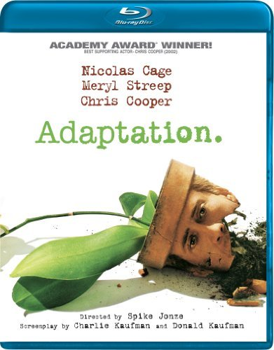 Adaptation Cage Streep Cooper Blu Ray Ws R