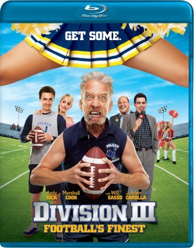 Division 3 Football's Finest Dick Cook Callen Blu Ray Ws R