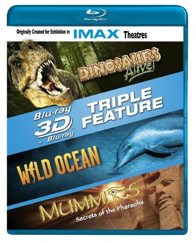 Imax Dinosaurs Alive! Wild Ocean Mu Blu Ray Ws 3d Nr 3 Br