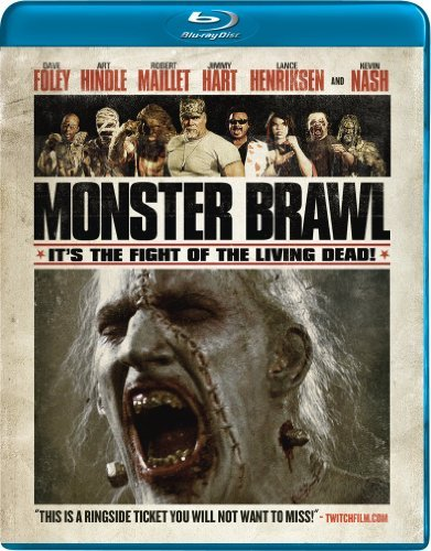 Monster Brawl Foley Hindle Maillet Blu Ray Ws Nr