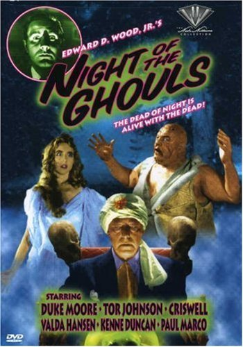 Night Of The Ghouls Moore Johnson Criswell Hansen Bw Moore Johnson Criswell Hansen