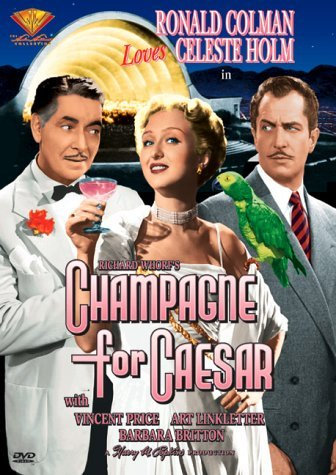 Champagne For Caesar (1950) Colman Holm Price Britton Link Bw Nr