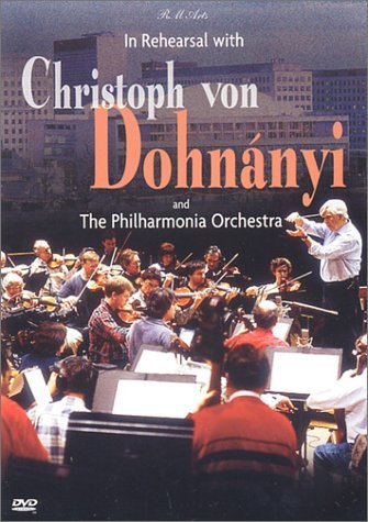 Christoph Von Dohnanyi In Rehearsal With Christoph Vo Clr St Nr