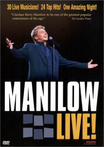 Barry Manilow Manilow Live Clr 5.1 Dts Nr Spec. Ed.