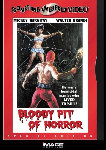 Bloody Pit Of Horror Hargitay Brandi DVD R Nr Spec. Ed.