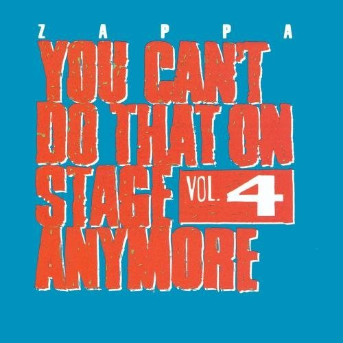Frank Zappa Vol. 4 You Can't Do That On St 2 CD Set