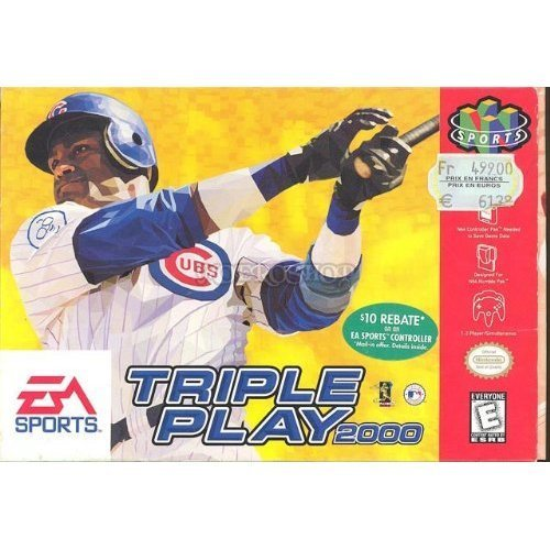 Nintendo 64 Triple Play 2000 E