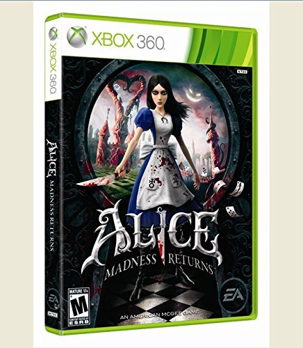 Xbox 360 Alice Madness Returns Electronic Arts M