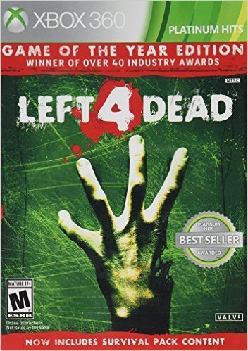 Xbox 360 Left 4 Dead Game Of The Year