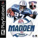 Psx Madden 2001 Football E