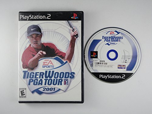 Ps2 Tiger Woods & Pga Tour 2001 E