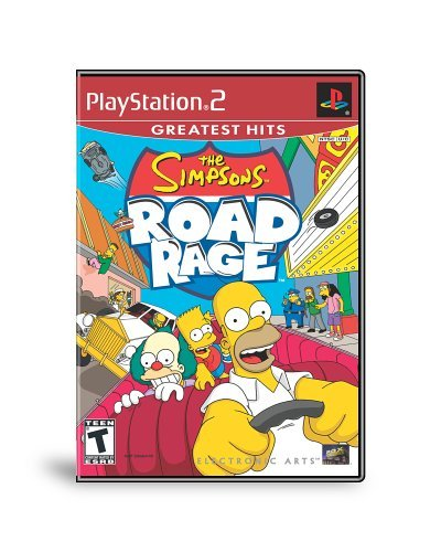 Ps2 Simpsons Road Rage Rp