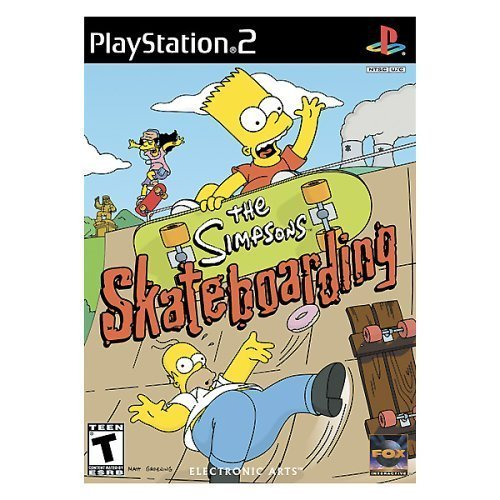 Ps2 Simpsons Skateboarding