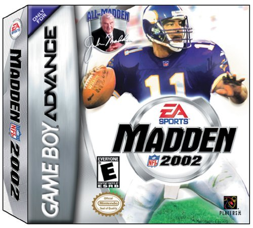 Gba Madden Nfl 2002
