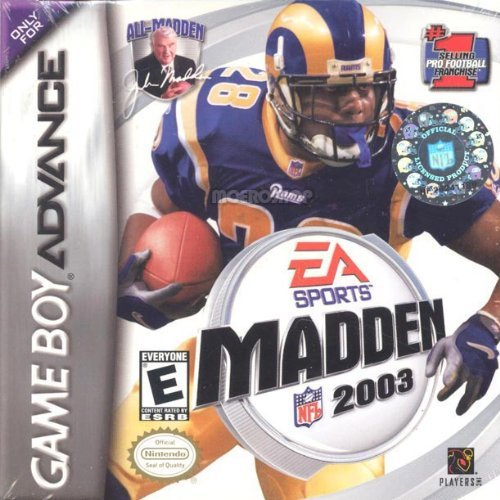 Gba Madden Nfl 2003