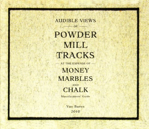 Powder Mill Money Marbles & Chalk