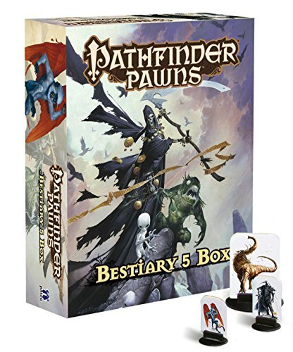 Paizo Staff Pathfinder Pawns Bestiary 5 Box