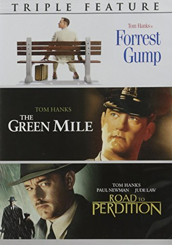Forrest Gump The Green Mile The Road To Perdition Tom Hanks Triple Feature