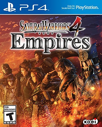 Ps4 Samurai Warriors 4 Empires