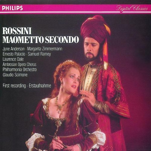 Gioachino Rossini Claudio Scimone Philharmonia Orc Rossini Maometto Secondo [first Recording]