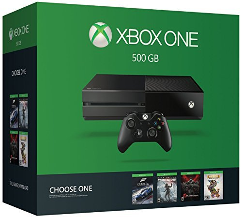 Xbox One System 500gb Name Your Game Bundle