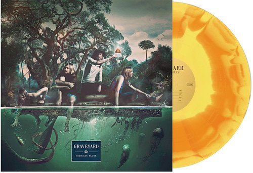 Graveyard Hisingen Blues (yellow Orange Vinyl) Limited To 300 Copies