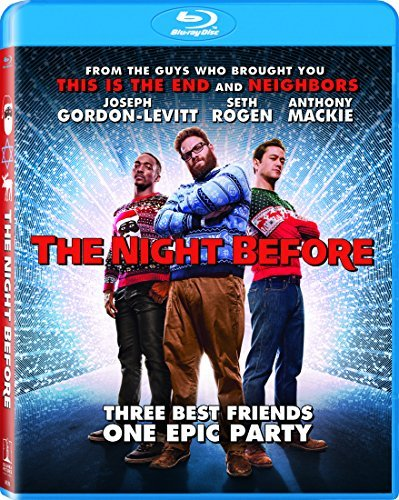 Night Before Gordon Levitt Rogen Mackie Bell Blu Ray R