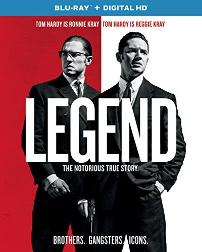 Legend (2015) Hardy Browning Blu Ray Dc R