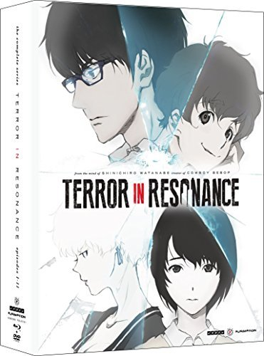 Terror In Resonance Complete Series Blu Ray