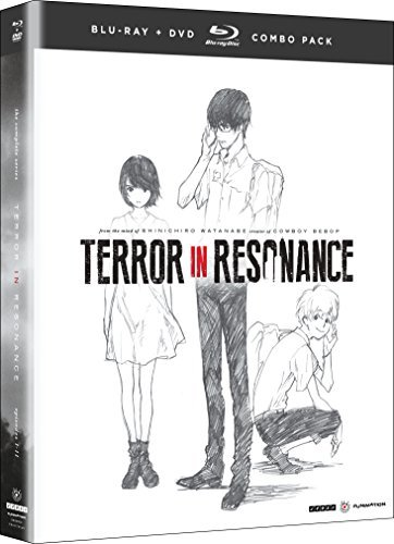 Terror In Resonance Complete Series Blu Ray DVD