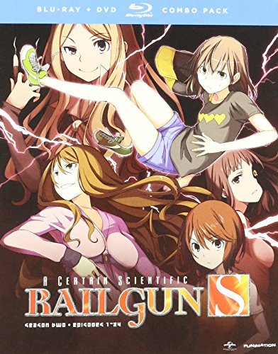 Certain Scientific Railgun Season 2 Blu Ray DVD