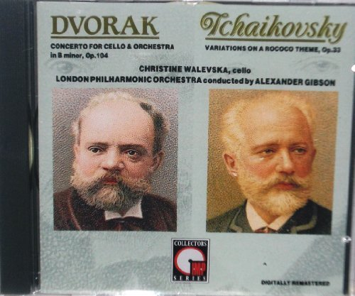 Dvorak Tchaikovsky Concerto For Cello & Orchestra Variations On A Rococo Theme
