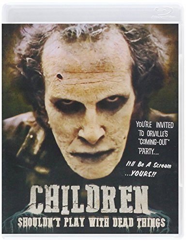 Children Shouldn't Play With Dead Things Ormsby Mamches Blu Ray Pg